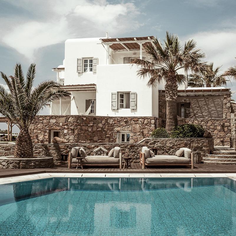 soho roc house san giorgio hotel mykonos grece
