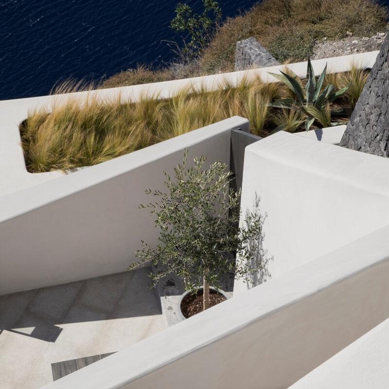 vora villa hotel santorin imerovigli grece k studio