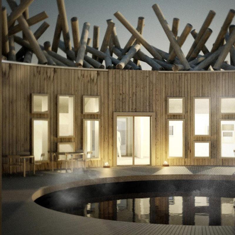 arctic bathhotel suede