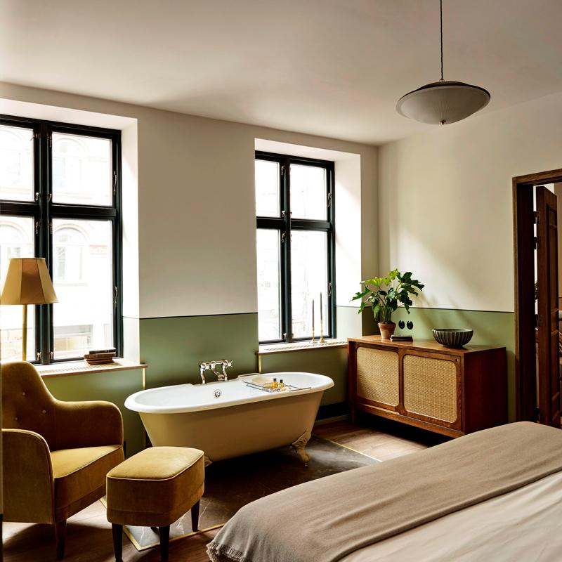 hotel sanders Copenhague Danemark
