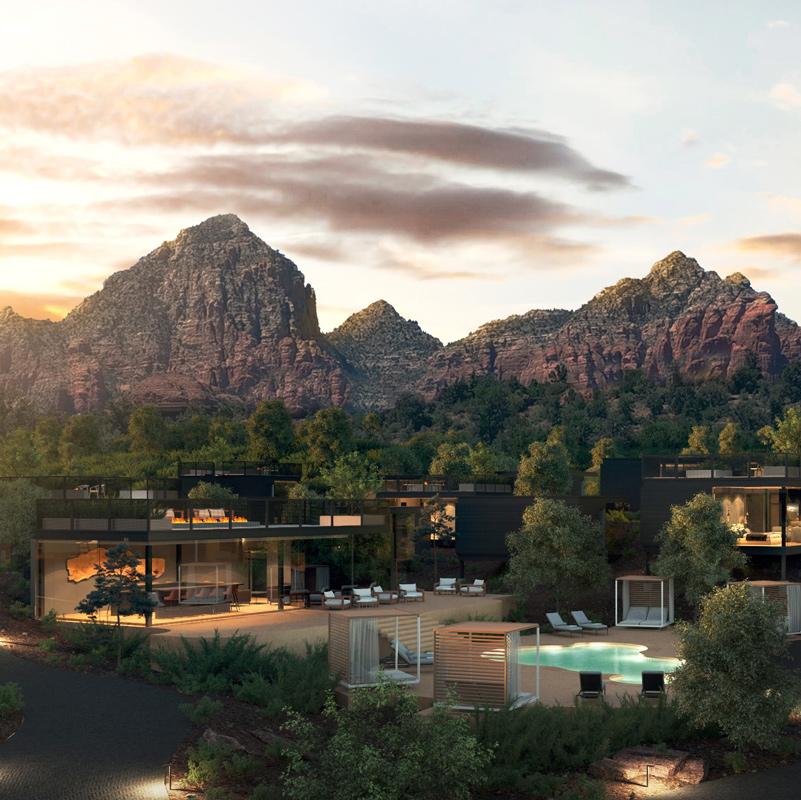 ambiente landscape hotel sedona arizona etats-unis