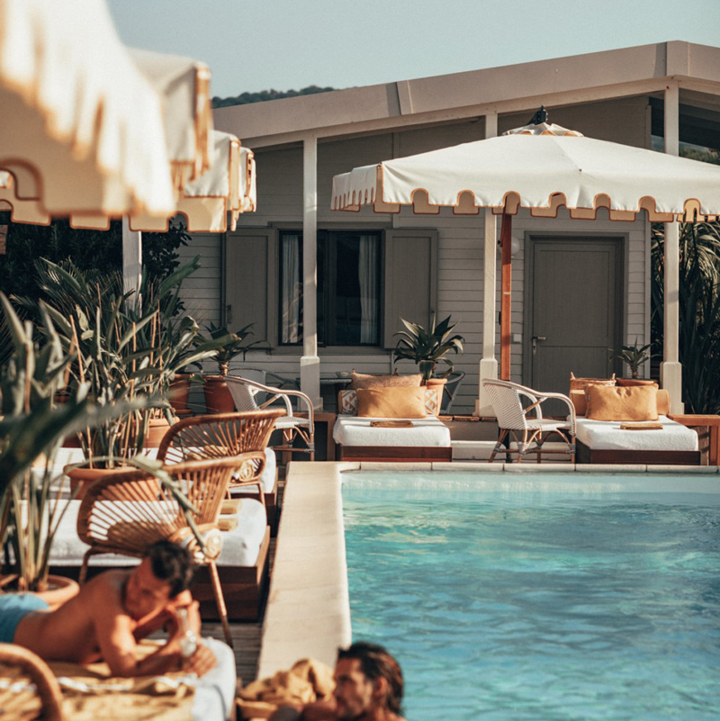 Epi 1959 Baie de Pampelonne hotel ramatuelle france