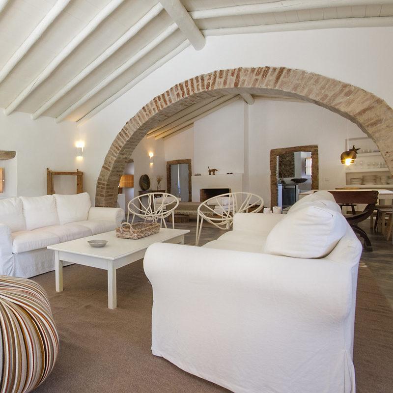 casas caiadas maison hote sabugueiro portugal