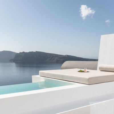 the saint hotel santorin grece