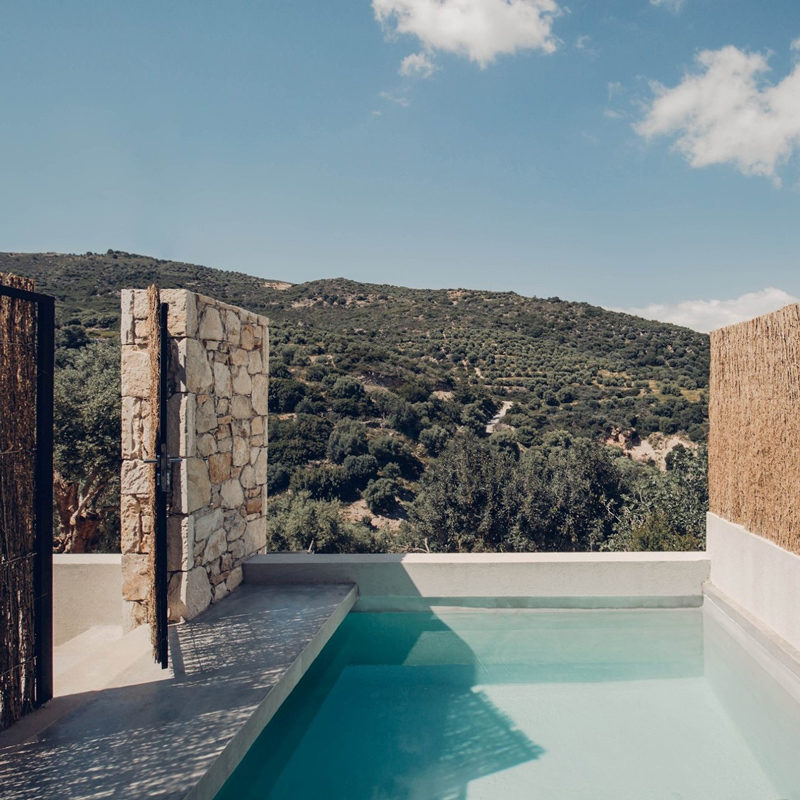 monastery estate mountain retreat hotel sougia chania crete