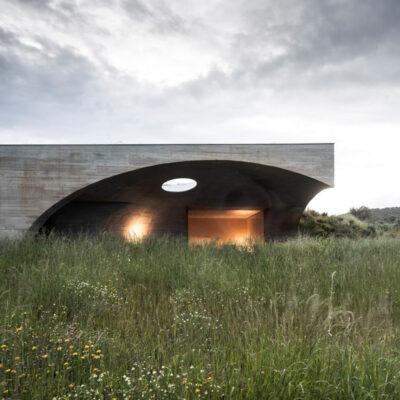 casa na terra monsaraz silent living aire mateus portugal