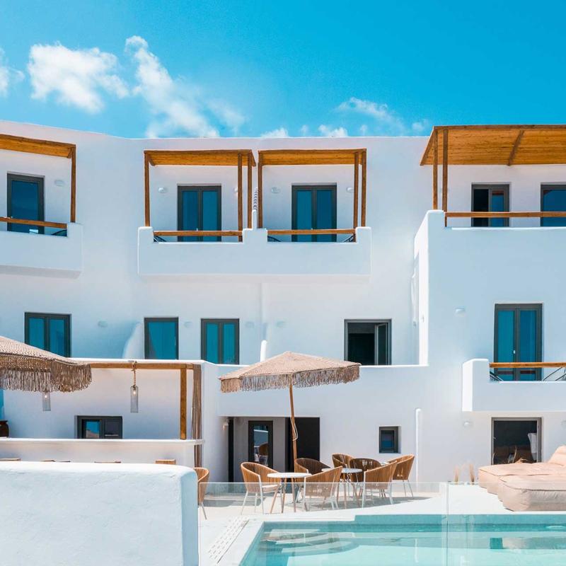 bohemian luxury boutique hotel naoussa paros greece