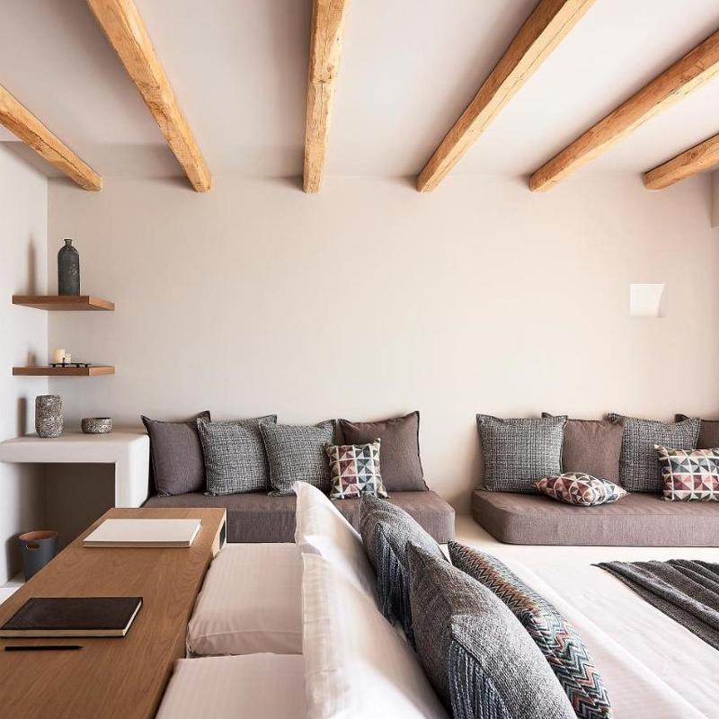 cave suites milos hotel adamas greece