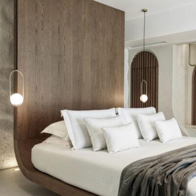 mykonos earth suites hotel megali ammos beach greece omniview