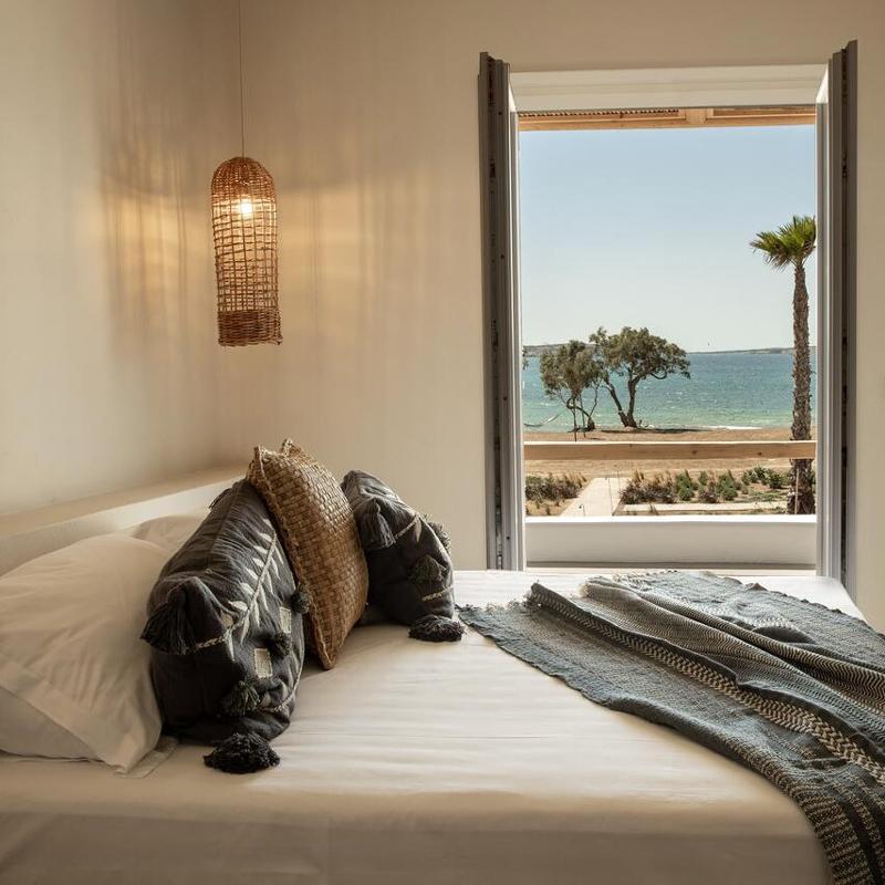 seesoo paros beachfront resort pounda paros greece
