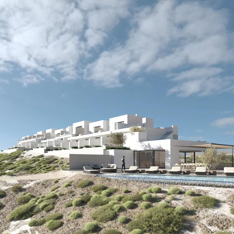 white coast pool suites hotel milos greece