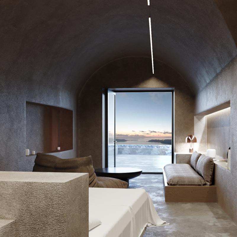 divine cave experience santorini greece hotel