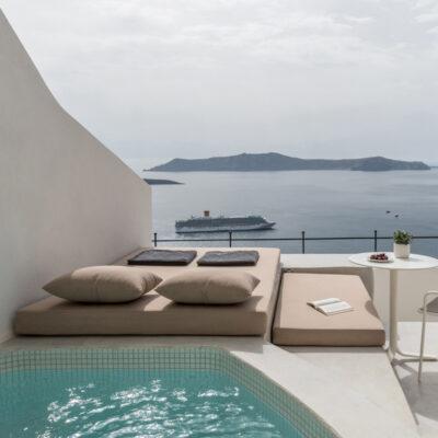 enigma suites santorini fira greece hotel interior design laboratorium