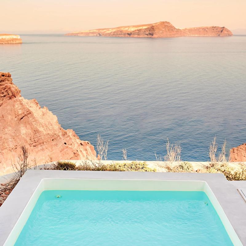 nature eco residences santorini hotel greece