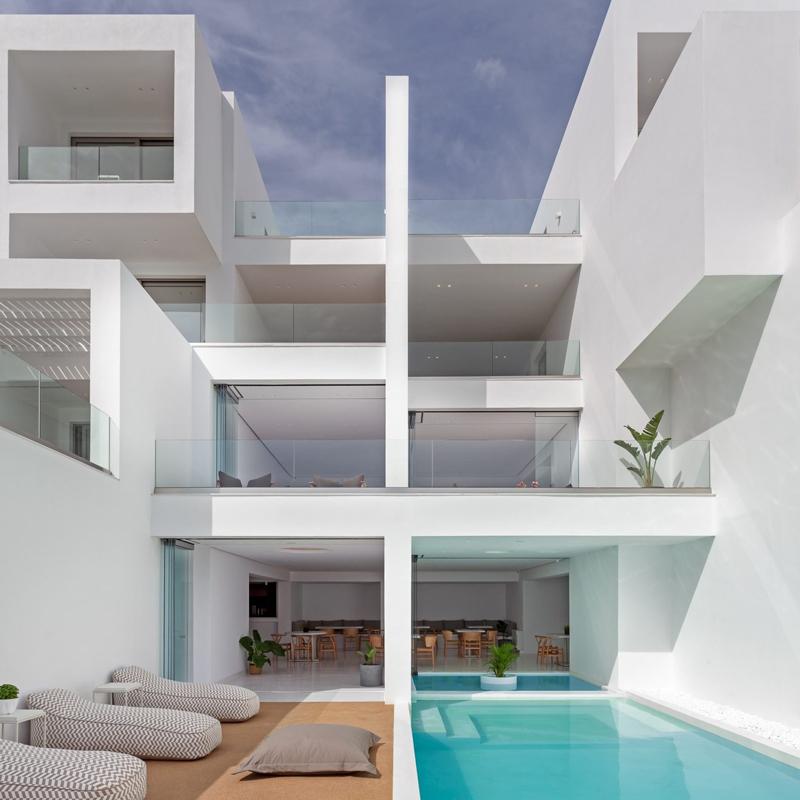 infinity view hotel tinos greece