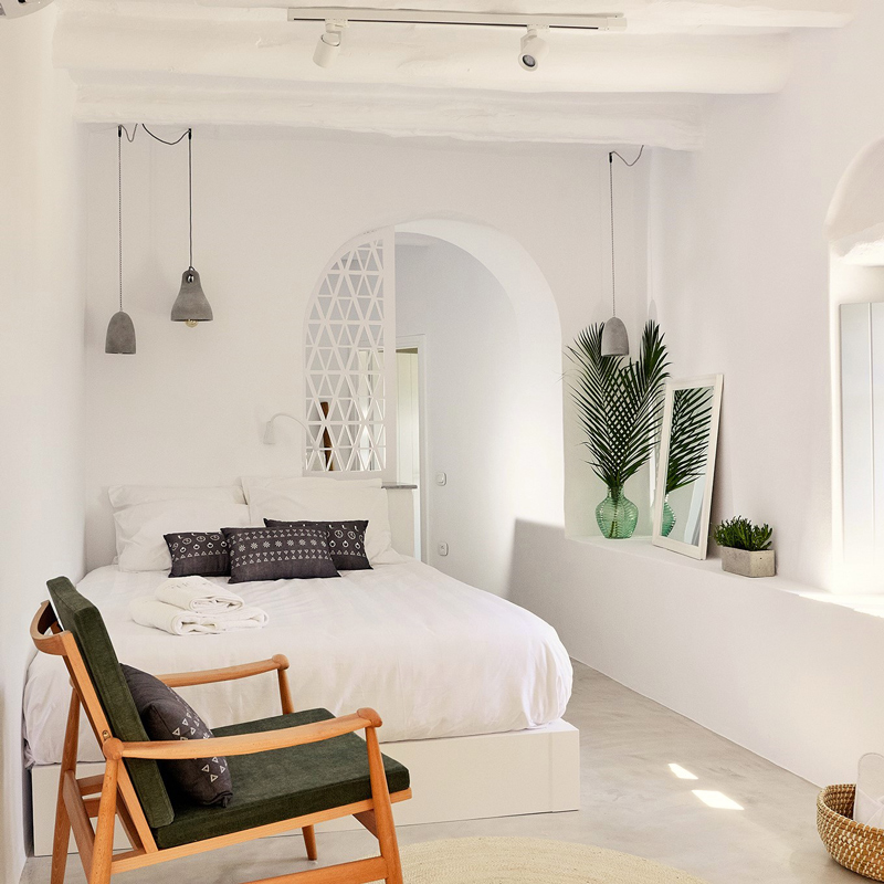 living theros luxury suites tinos greece