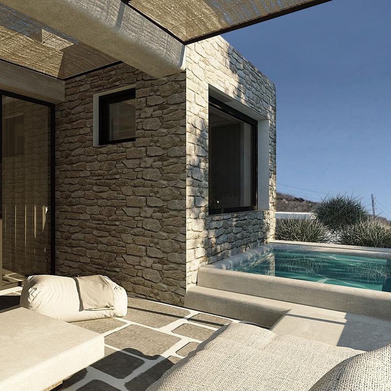 under the sun cycladic village hotel tinos greece