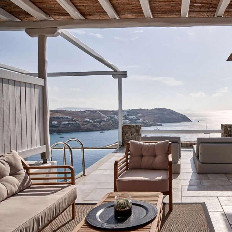 mykonos bliss cozy suites hotel greece