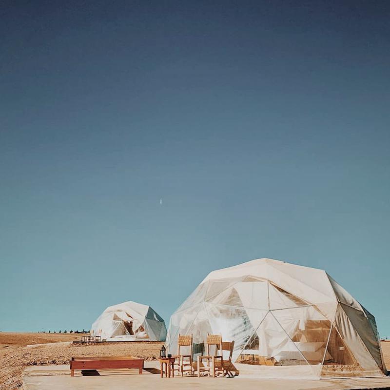 emeraude luxury camp agafay desert marrakech morroco