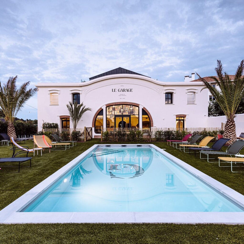le garage biarritz hotel pays basque france